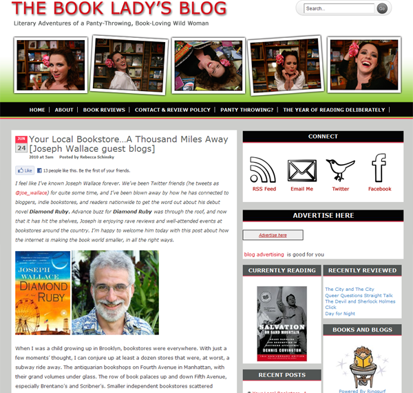 The Book Lady's Blog