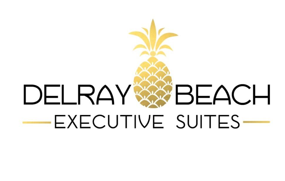 Delray Beach Executive Suites Logo by Simply Amusing Designs