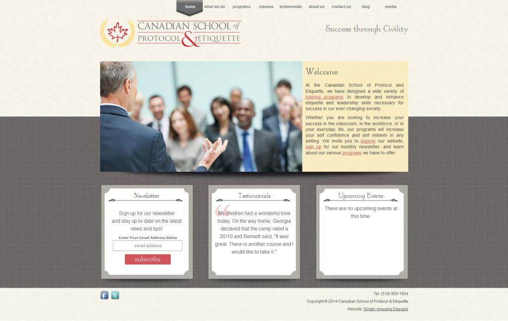 CSPE WordPress Genesis Design