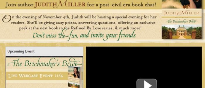 Judith Miller Facebook Live Webcast by Simply Amusing Designs