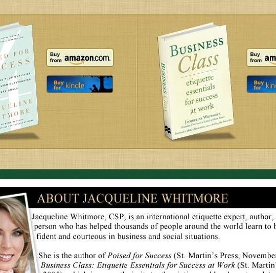Jacqueline Whitmore Pages for Facebook
