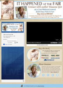 Deeanne Gist Live Webcast App by www.simplyamusingdesigns.com