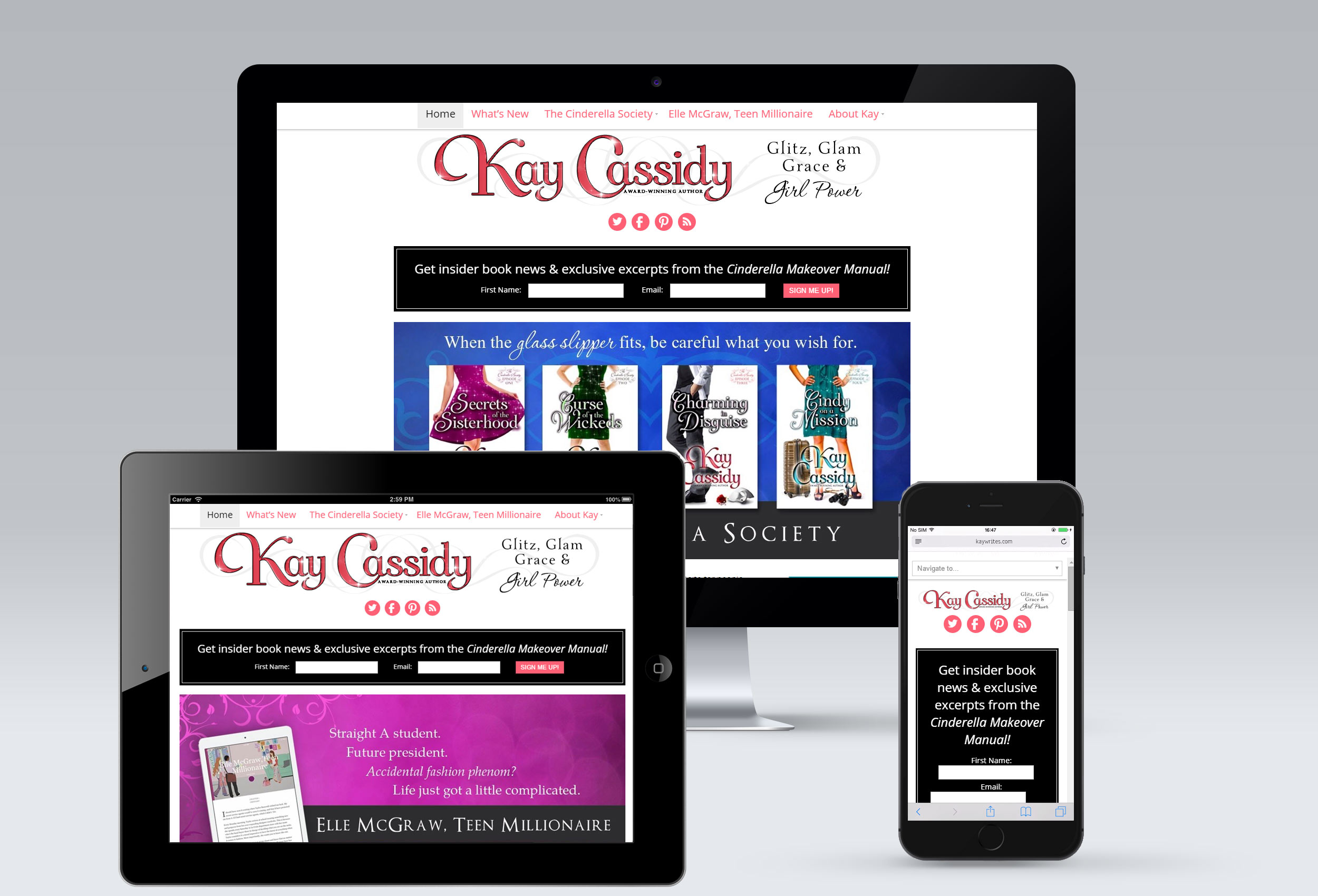 Kay-Cassidy WordPress Design