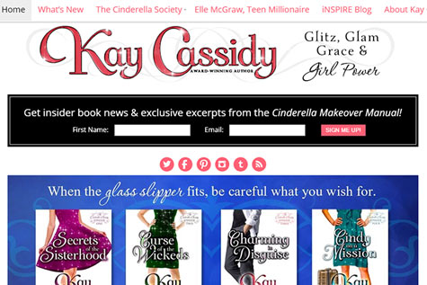 kay-cassidy-website redesign