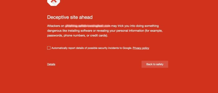 "Google's Safe Browsing Now Checks for ""Deceptive Content"" on Your Website"