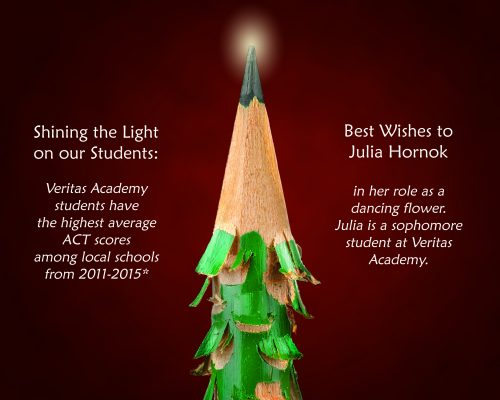 Veritas Academy Ads & Graphics